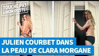 Julien Courbet parodie le calendrier de Clara Morgane