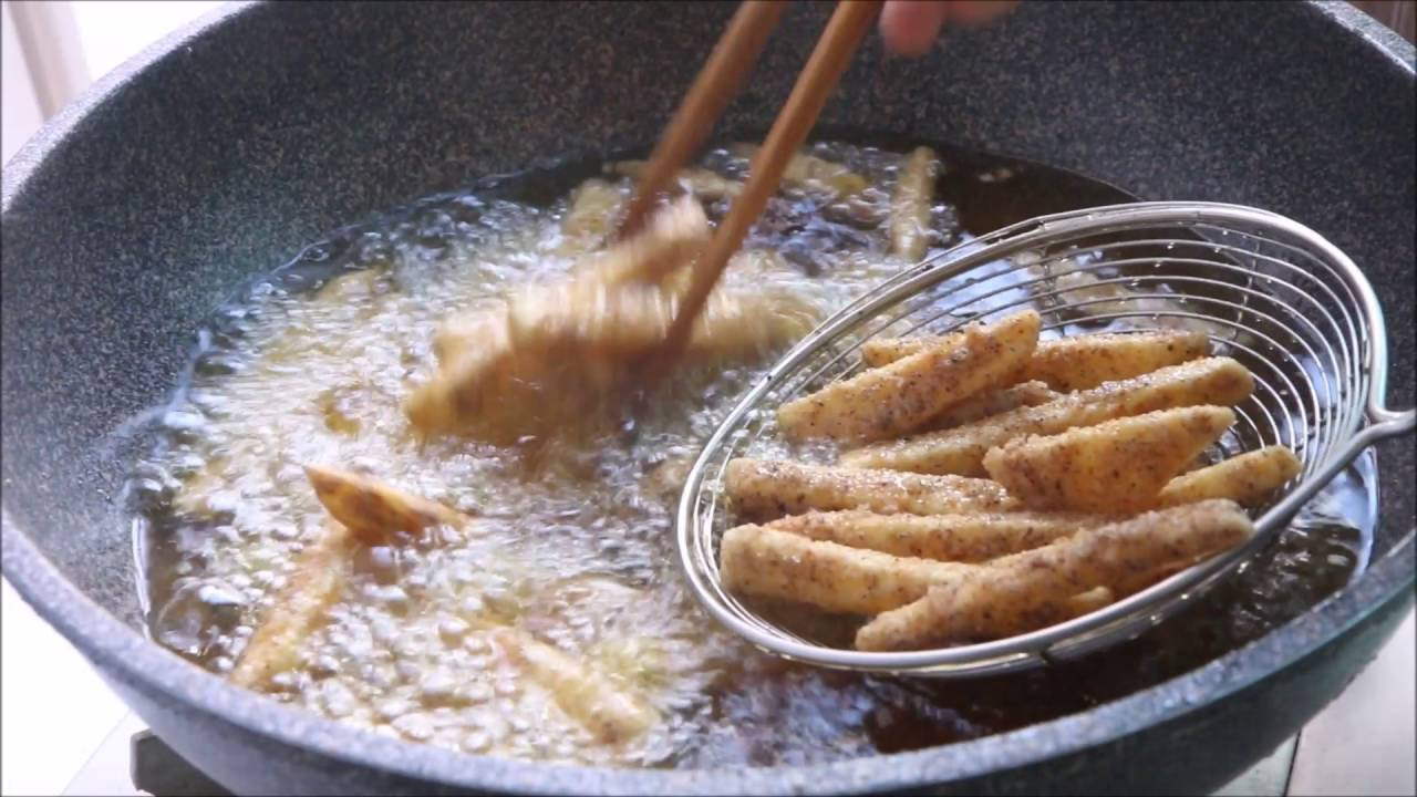 맘스터치 뺨치는 감자튀김 만들기, 시즈닝없어도 맛있게, 맥주 ...
