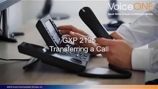Grandstream GXP2135 Call Transfer