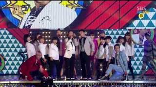 Repeat youtube video SBS [2013가요대전] - 임창정&허각 '문을 여시오'