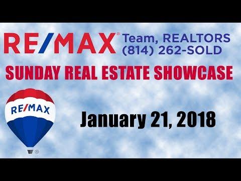 21 January 2018 RE/MAX Sunday Real Estate Showcase