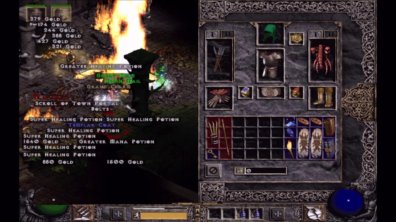 Diablo 2. LOD 1.14d MF runs. - YouTube