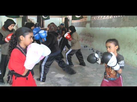 Pakistani Girls Take Boxing to KO Gender Inequality