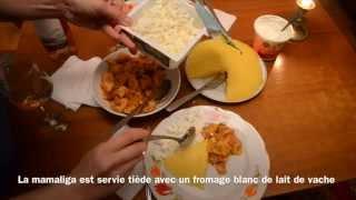 La mamaliga au poulet (recette moldave)