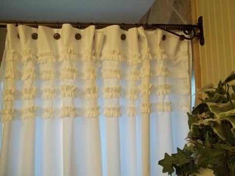 Unique Shabby Chic Shower Curtains Design Ideas
