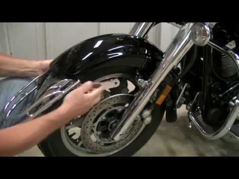How To Remove Grips On A  Yamaha V Star