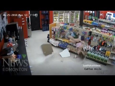 Woman Falls Through Ceiling Trying To Escape Police