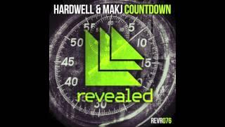 Countdown - Hardwell & MAKJ (Audio) | DJ MAKJ