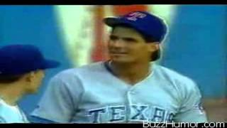 Ball bounces off Canseco