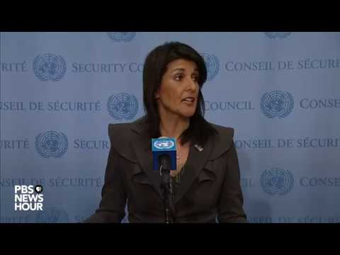 WATCH: Ambassador Nikki Haley speaks on Pakistan, Iran