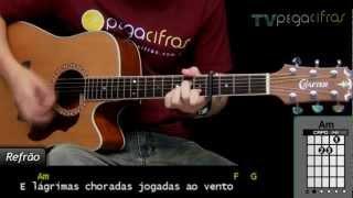 Victor e Leo - Lágrimas (Aula de violão) - TV Pega Cifras