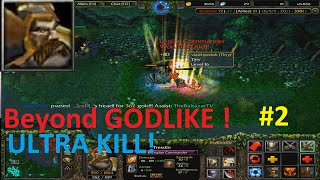 DotA 6.83d - Legion Commander Beyond GODLIKE ! #2 ( ULTRA KILL)