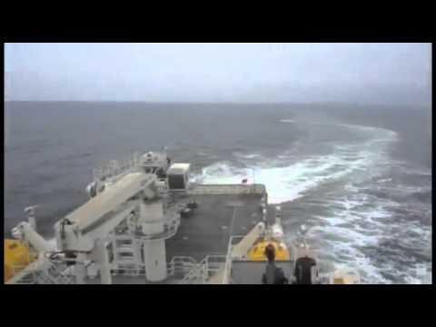 Sea trial Neptune Despina