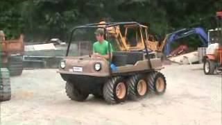 Sold! 2000 Max IV Amphibious 6x6 All Terrain Vehicle Kohler Gas bidadoo.com