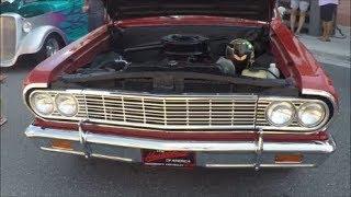 1964 Chevelle Malibu Convertible Red TV 081917