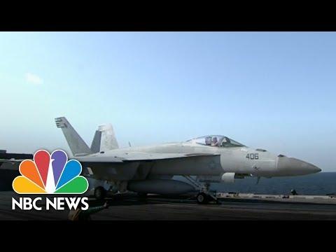 'Rehearsal For War:' Pyongyang Denounces U.S.- S. Korean Naval Drills | NBC News