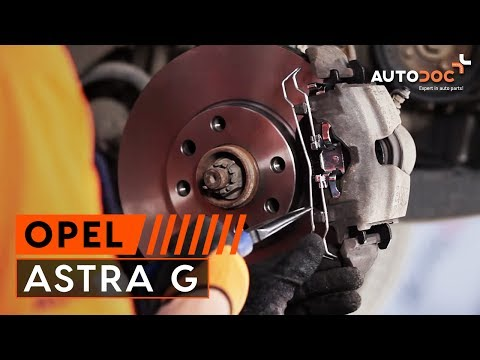 How To Replace Front Brake Discs And Front Brake Pads On
