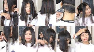 Hair2U - Miss Gu Bob Haircut with Short Bangs Preview