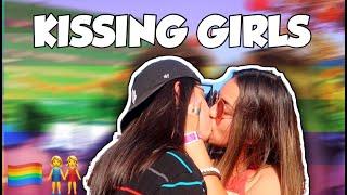 GIRLS PICKING UP GIRLS AND KISSING AT LA PRIDE | LGBT PART 2