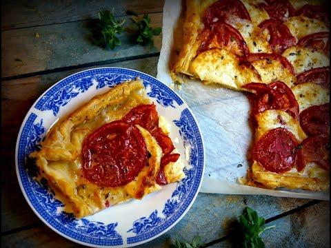 Τάρτα με ταλαγάνι και ντομάτα | Mamatsita