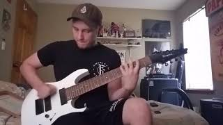 7 iconic rock and metal riffs played on an 8 string guitar