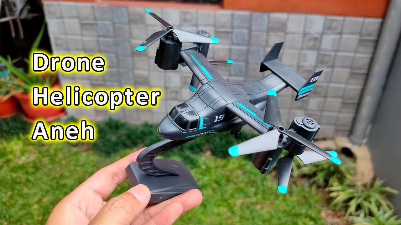 Eachine E19 Drone Helikopter Aneh Gak Jelas Keberatan Bodi