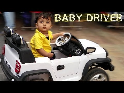 Cars for Kids -  Baby Driving BMW Toy Car for First Time - Kids Toy Car Video with Shivay Childhood