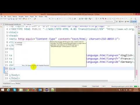 Multiple Languages with Spring MVC Framework