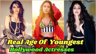 Real Age of Bollywood Young Actresses