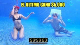 EL ULTIMO EN RESPIRAR GANA $5,000 | RETO CON MI NOVIA