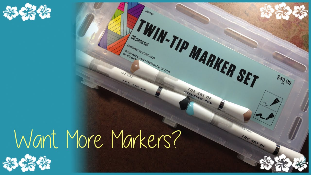 Marker Chat | Twin-Tip (Conda) Markers