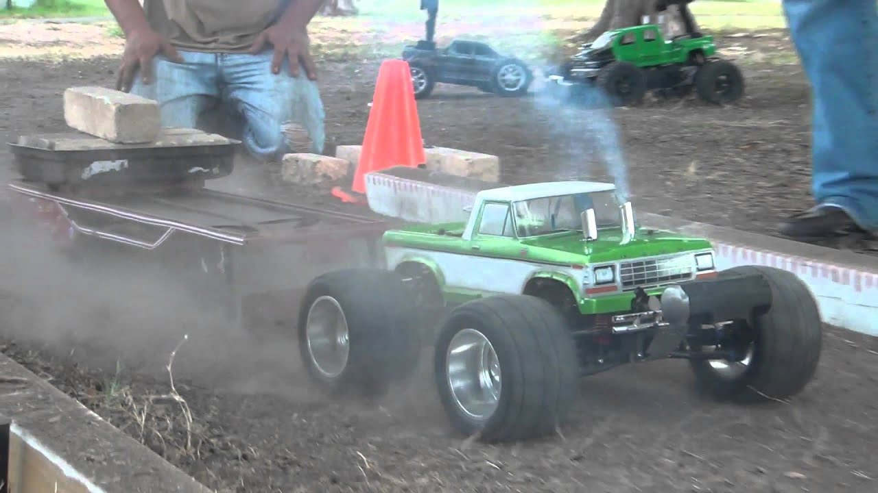 Finishline Rc Quot Truck Pulling Quot With Funny Mini Slash Youtube