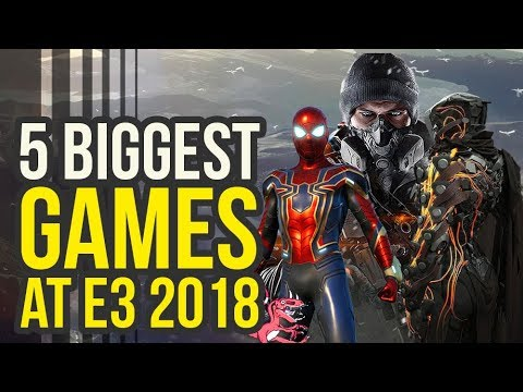 5 Biggest E3 2018 Games THAT WILL STEAL THE SHOW (Spider Man PS4 & More) - JorGameShow 2