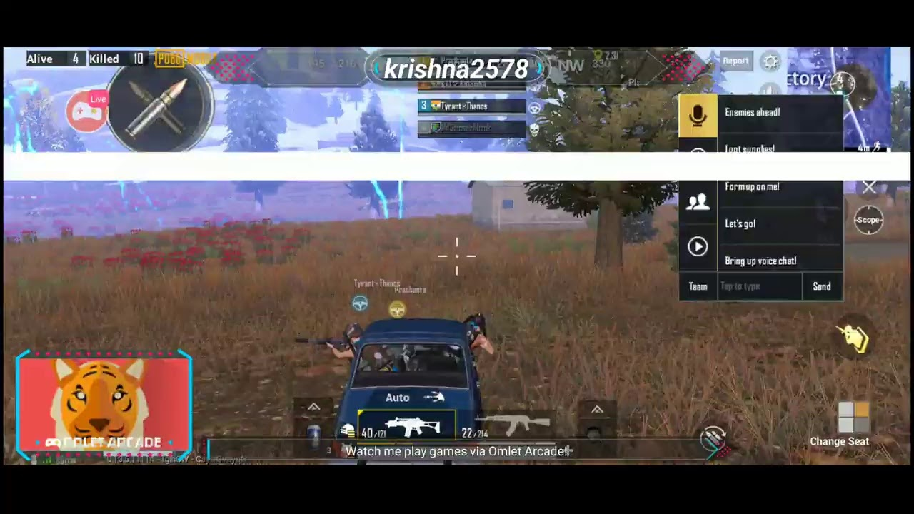 Watch me stream PUBG MOBILE on Omlet Arcade! - YouTube