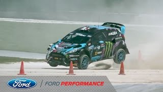 Red Bull Global Rallycross in Barbados | 43 Seconds with Ken Block | Ford Performance thumbnail