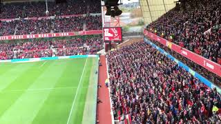 Look at this atmosphere forest vs Sheffield united