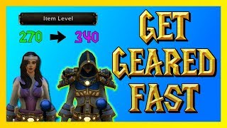 Fastest Way to Get Geared - WoW BFA (World of Warcraft)