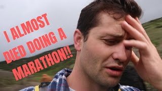 RUNNING A MARATHON WITHOUT TRAINING!!!