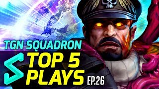 TGN Squadron's Top 5 Plays in Heroes of the Storm | Episode 26