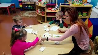 Видео - урок нетрадиционное рисование с детьми 2-3 лет.