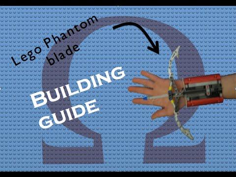 Lego Phantom Blade Building Instructionsguide Youtube