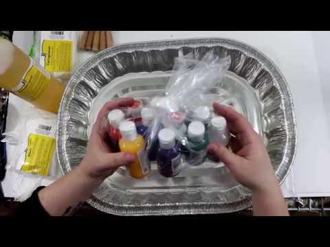 (208) Marbling Tutorial Part 1, Ebru Marbling Silk Handkerchiefs