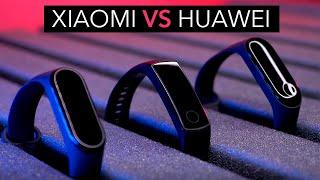 лучшие фитнес-трекеры 2019! Xiaomi или Huawei?