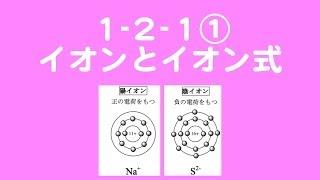 1_2_1①イオンとイオン式