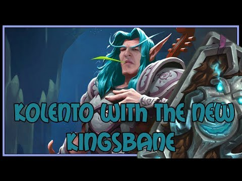 Kolento with the new Kingsbane | The Witchwood | Hearthstone