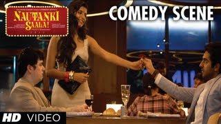 Nautanki Saala Comedy Scene - Tum Notice Nahi karti | Ayushmann Khurrana, Gaelyn Mendonca