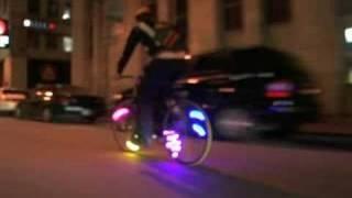 MonkeyLectric--revolutionary bicycle lighting
