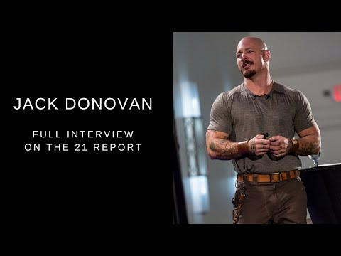 Jack Donovan (The Way of Men) on The 21 Report | Full Interview