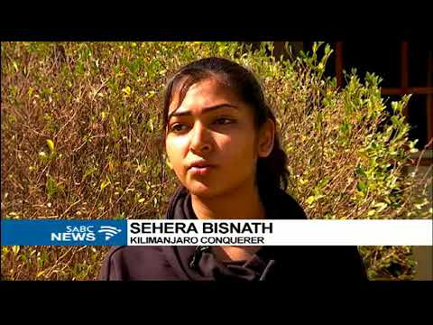 Sehera Bisnath is still in awe after conquering Mount Kilimanjaro