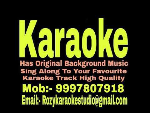 Romeo Naam Mera Chori Hai Kaam Karaoke - Roop Ki Rani Choron Ka Raja { 1993 } Vinod Rathod Track